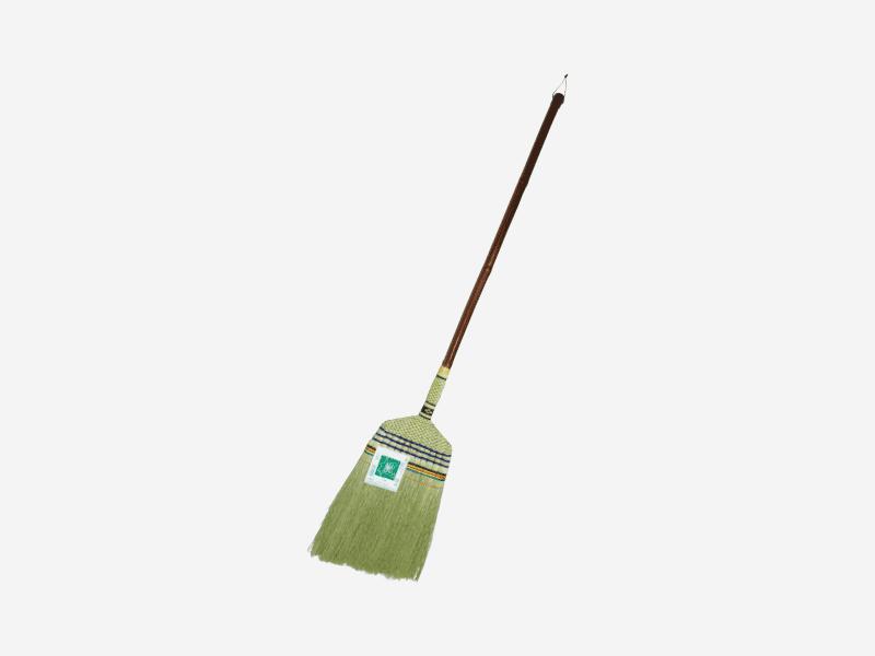 座敷ほうき長柄11玉 楓